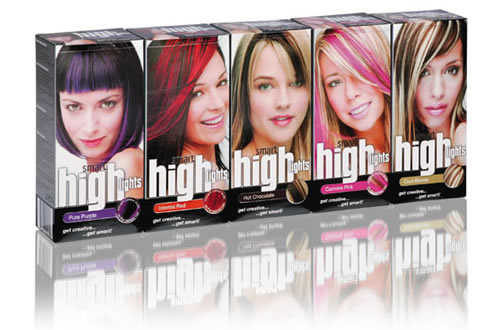 red hair highlights. hair colour highlights